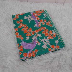 Kate Spade Office - New! Kate Spade BIRD PARTY Green Spiral Notebook